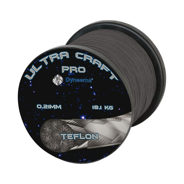 Ultra Craft Pro DSM Dyneema Anthrazit 100 m