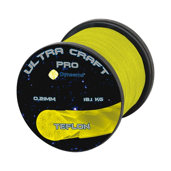 Ultra Craft Pro DSM Dyneema Gelb (100 m)