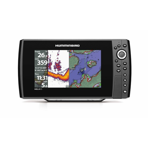 Helix 9X CHIRP Sonar GPS G2