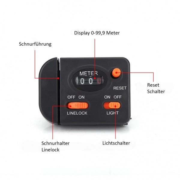 Spezial Line CounterTiefenmesser bis 99 Meter
