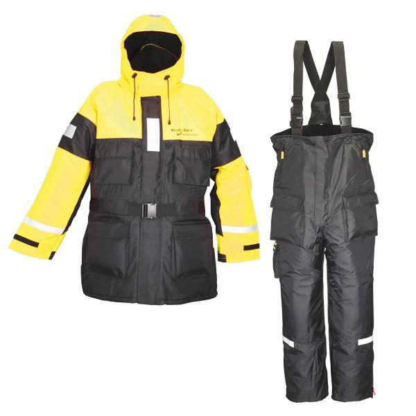 Blue Sky Schwimmanzug EN ISO - yellow/black