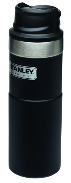 Stanley Travel Mug Vakuum Trinkbecher schwarz