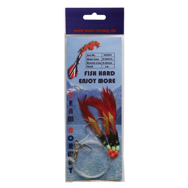 Fish Vorfach Schwarz
