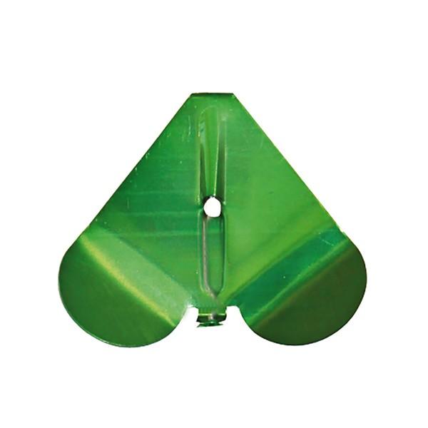 Buzzer Blades Aluminium Grün
