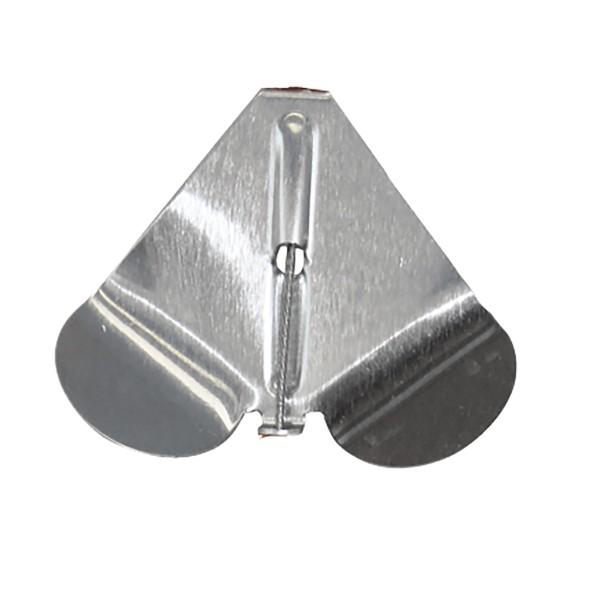 Buzzer Blades Aluminium Silber