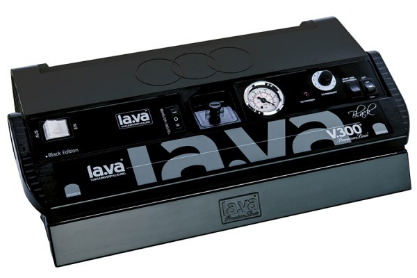 Lava V 300 Premium Black Edition Vakuumiergerät mit gratis Vakuumbeutel
