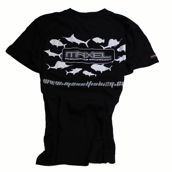Maxel T-Shirt Black