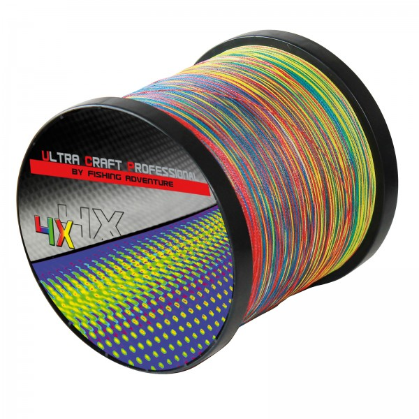 Ultra Craft Professional 4X PE Multicolor - 100 Meter - 0,19mm / 19,4 kg